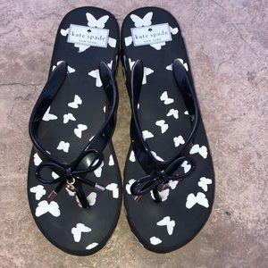 Kate Spade Rhett wedge sandals Black